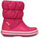 Crocs Winter Puff - Botas Niños - rosa